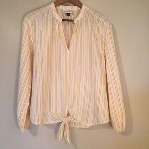 Universal Thread Boho Front-Tie Blouse